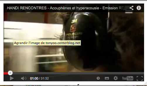 Rencontre hyperacousie